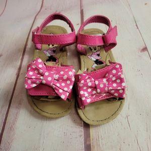 Minnie Mouse sandals 6